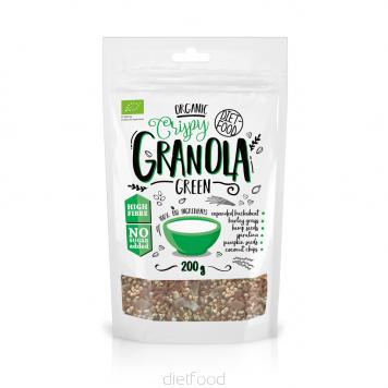 Granolas vert bio | diet-food.fr