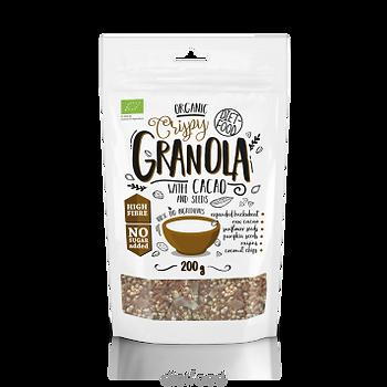 Granolas au cacao  bio | diet-food.fr