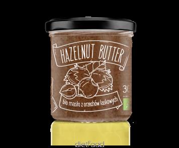 Beurre  de noisettes certifié  bio | diet-food.fr