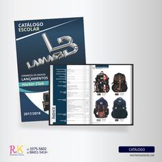 Criação e Diagramação de Catálogo Escolar - Lamasb