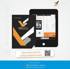 Ciração de Site com Revista Digital