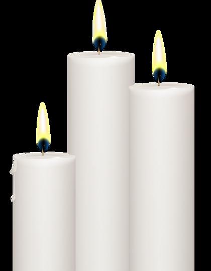 Velas de Pentecostes