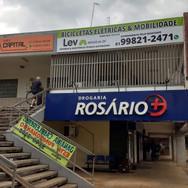 Placa de loja fachada, Gráfica em Brasília DF