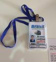 Cracha PVC em Brasília Taguatinga DF - Cordão Crachá Personalizado