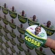Praguinha e melequinha - campanha politica - Gráfica em Brasília Taguatinga DF