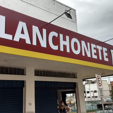 Placa de fachada de loja - Gráfica em Taguatinga Brasília DF