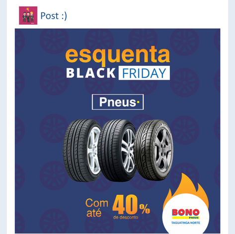 Campanha para Bono Pneus