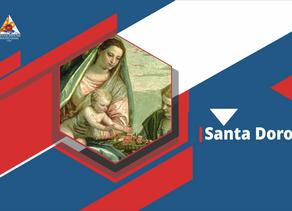 Santa Doroteia: o milagre das rosas e frutos