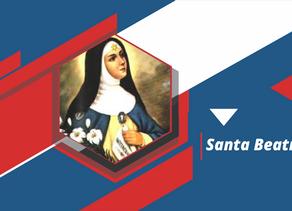 Santa Beatriz, devota de Nossa Senhora da Conceição