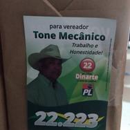 Santinho para campanha politica em Brasília DF - Gráfica em Brasília DF