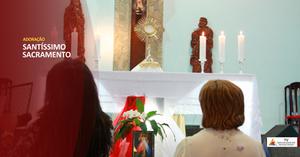 Adoração o Santíssimo Sacramento - TV Renascidos em Pentecostes