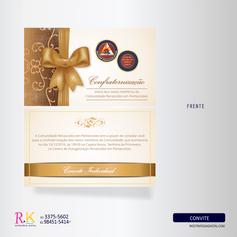 Convite Personalizado - Comunidade Católica