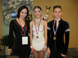 Наши поздравления Полине Галкиной и Георгию Стульцеву с победой на Международных соревнованиях в Мос