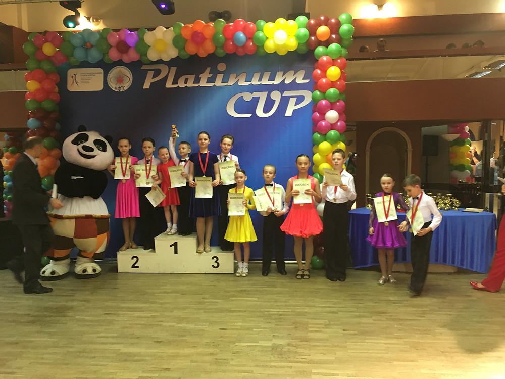 Чихарев Т. - Смирнова А., 3 место в Кубке Медленного вальса