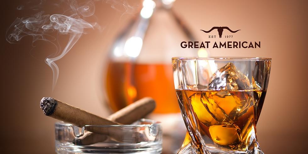 Cigar & Whiskey Tasting at Great American.
