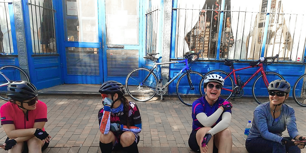 Keep Moving. Entrepreneurial Bike Ride.