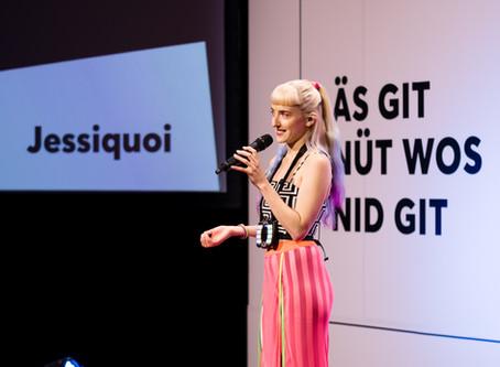 TEDx Talk by Jessiquoi in Bern