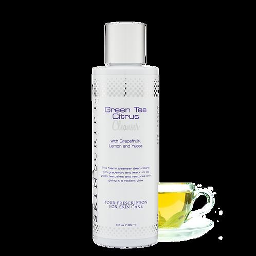 Skin Script Rx Green Tea Citrus Cleanser 6.5 oz
