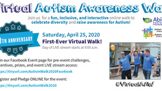 Autism walk is virtual this year