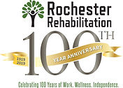 RR100 Anniversary square logo with tag l