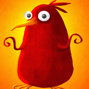 Bib the Red Bird