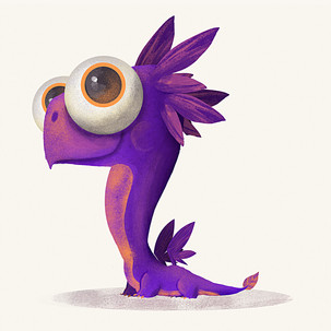 The Violet Dragon