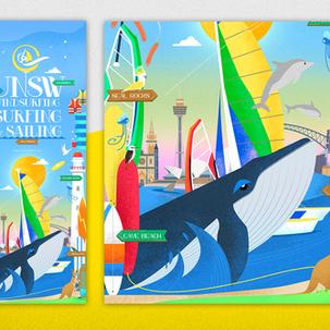 UNSW Windsurfing Surfing & Sailing Club Banner