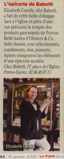 Le Point 10 janvier 2008