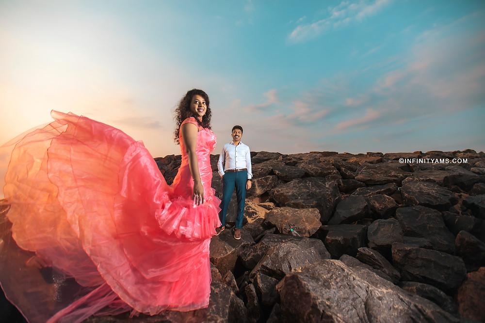 Pre wedding photoshoot chennai