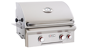 American Outdoor Grill T-Series 24 Inch 2 Burner Built in Grill