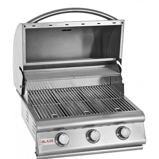 Blaze 25-Inch 3-Burner Built-In Gas Grill