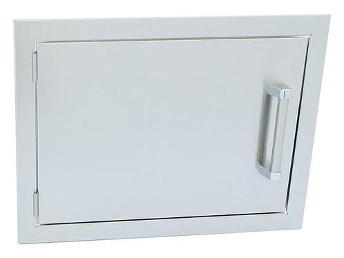 Stainless Steel Built-In Reversible Double Walled 20×14 BBQ Island Door