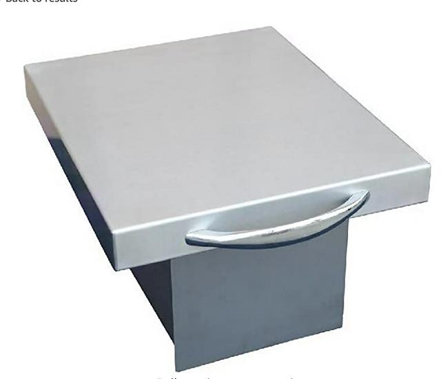 Trash Chute and Cutting Board