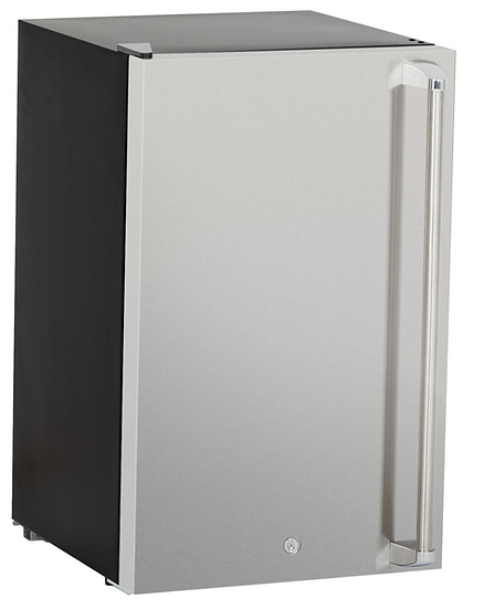 Pro Built-In Outdoor Kitchen Refrigerator with Temp Control Soda Rack Pro Sleeve