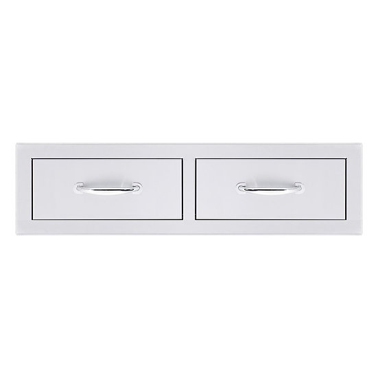 "Summerset 32"" Double Horizontal Drawer"