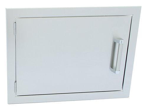 Stainless Steel Built-In Reversible Dual Wall 24×17 Inch BBQ Island Door