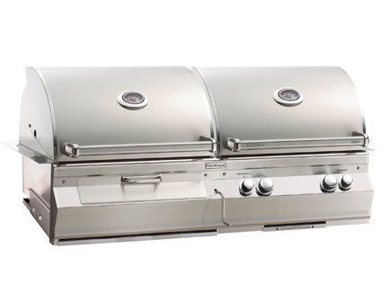 Aurora A830i Combo Grills Gas and Charcoal
