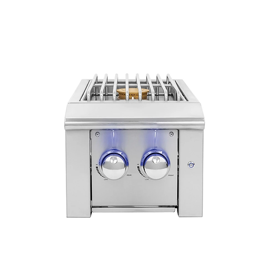 Alturi Double Side Burner w/ LED Illumination