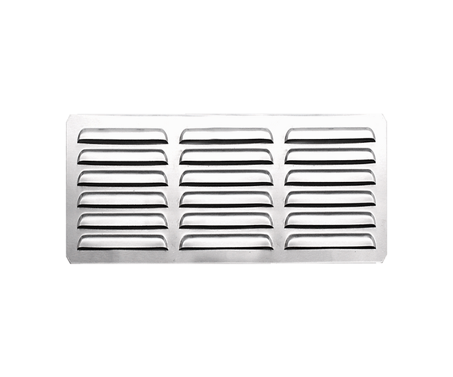 "Summerset 6x12"" Island Vent Panel w/ Masonry Frame Return"