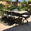 Thumbnail: L-Shape BBQ Island With Bar Seating and 4 Burner Built-in BBQ Grill