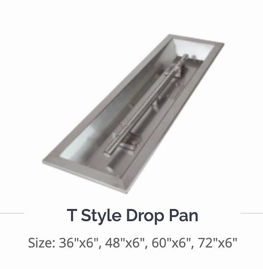 Athena T Style Drop in Pan Firepit Burner DIY