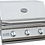 3 Burner Built-In Kokomo BBQ Grill Hood Closed