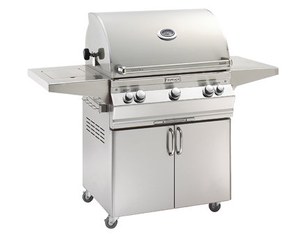 A660s Portable Grill with Single Side Burner
