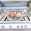 Thumbnail: Professional 4 Burner 32 Inch Built In BBQ Grill With Lights & IR Back Burner