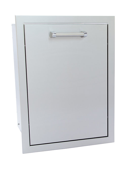 Trash Can or Propane Tank Enclosed Drawer