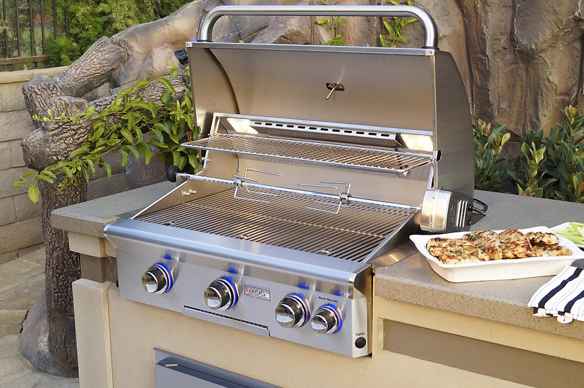 American Outdoor Grill L-Series 30 Inch 3 Burner Built in Grill