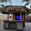 Thumbnail: Outdoor Kitchen Palapa with Built-In BBQ Grill T.V. and Refridgerater