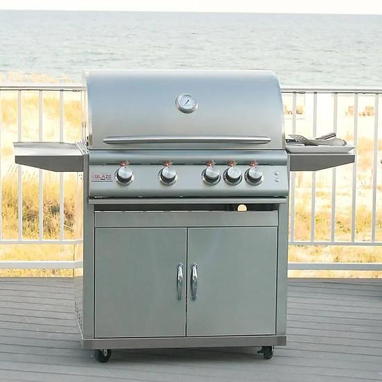 Blaze LTE Marine Grade 32-Inch 4-Burner Freestanding Gas Grill With Rear