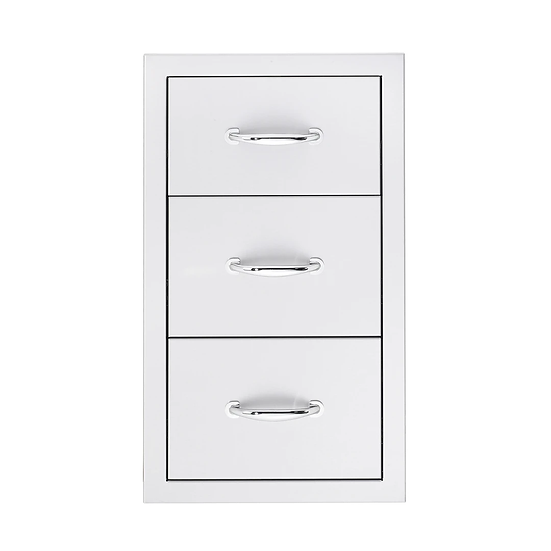 "Sumerset 17"" Triple Drawer"