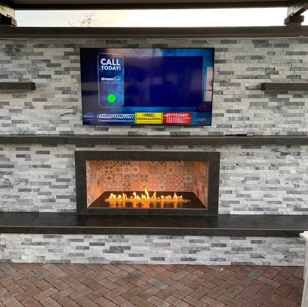 Arizona Outdoor Fireplaces
